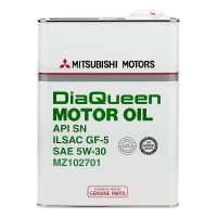 Моторное масло MITSUBISHI DiaQueen 5W30 SN GF-5, 4л